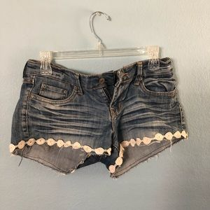 Charlotte Russe jean shorts